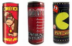 candy-store-donkey-kong-resident-evil-t-virus-antidote-pac-man-power-up-jungle-juices