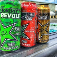 rockstar-ginger-brew-energy-drink-gold-can-usa-2016-plus-revolt-citrus-killer-watermelon-pure-zeros