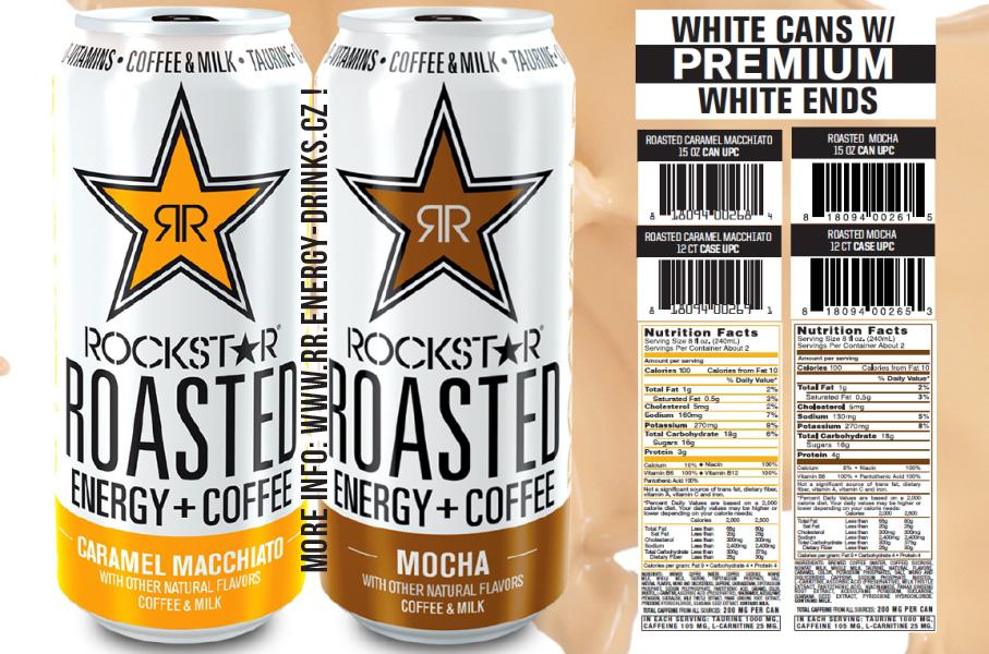 Pin Rockstar Roasted Light Vanilla Coffee Images To Pinterest